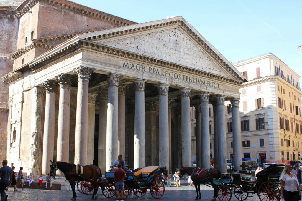 churches in Rome Pantheon