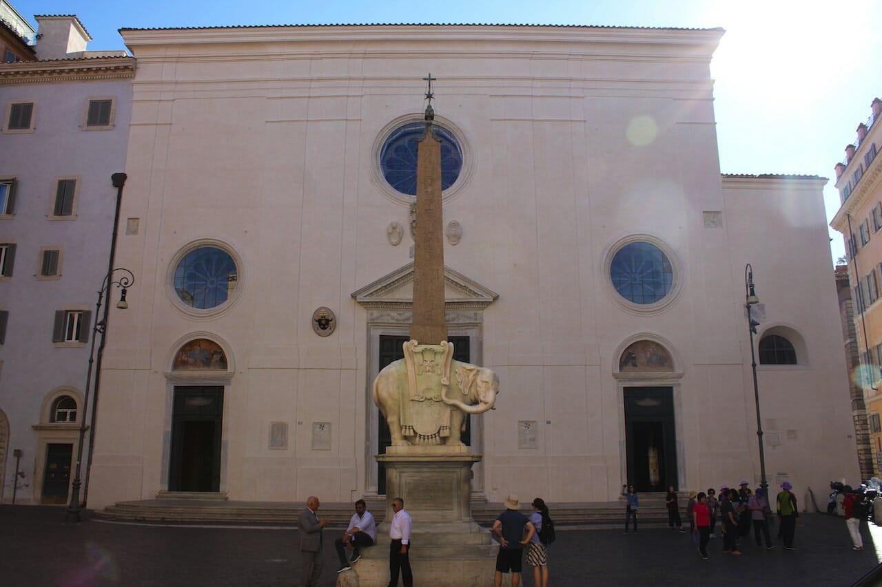 basilica di santa maria sopra minerva best church rome