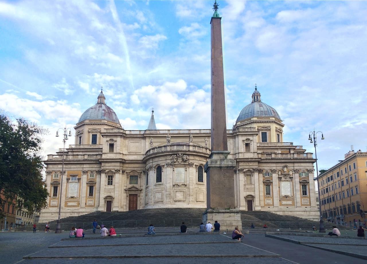 churches in Rome Basilica di Santa Maria Maggiore