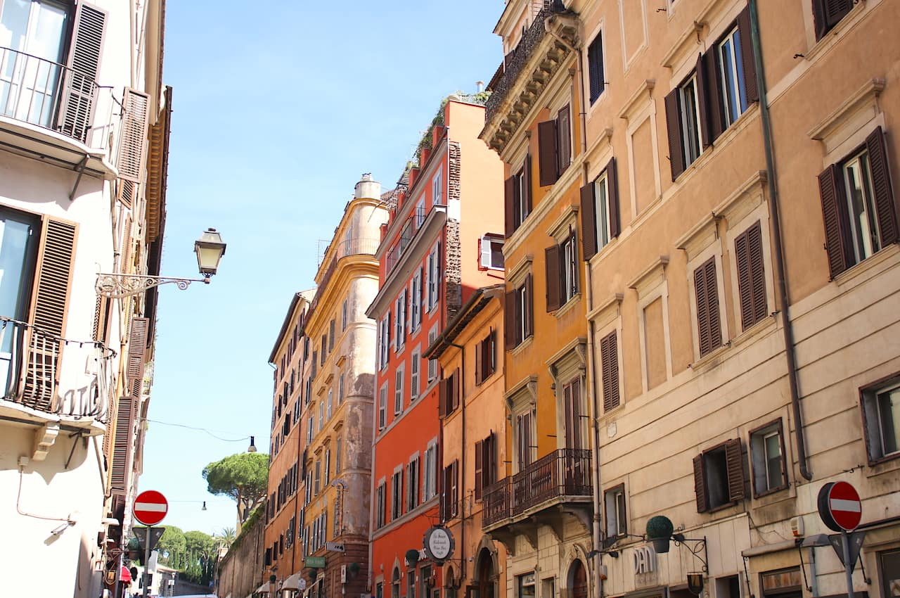 Weather in Rome in October perfect time