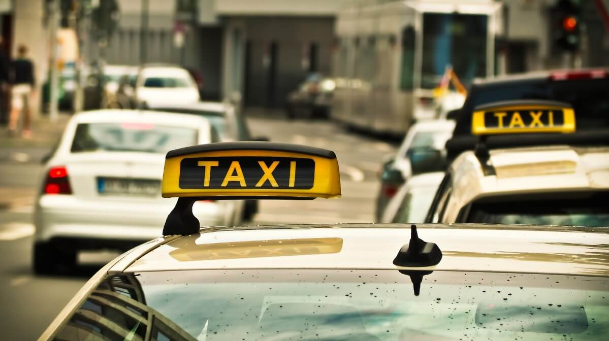 Official Rome city taxi
