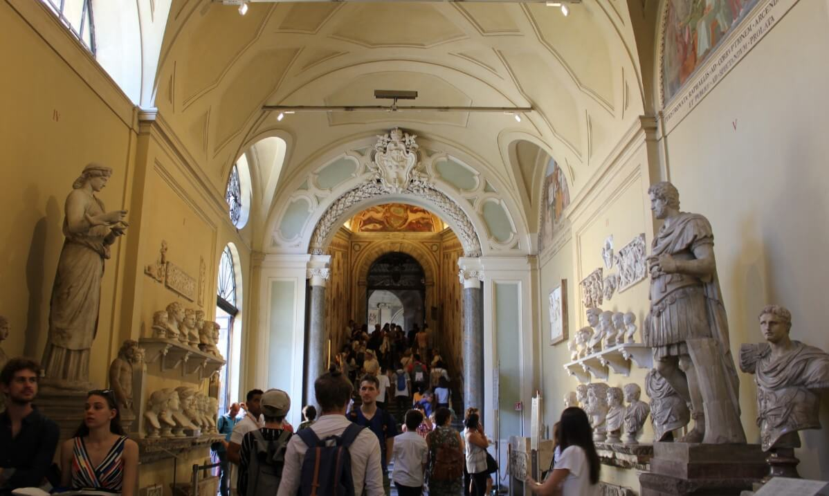 Visiting Vatican museums