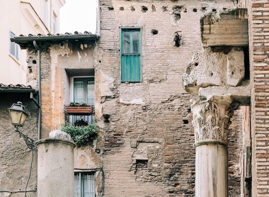 jewish quarter rome street