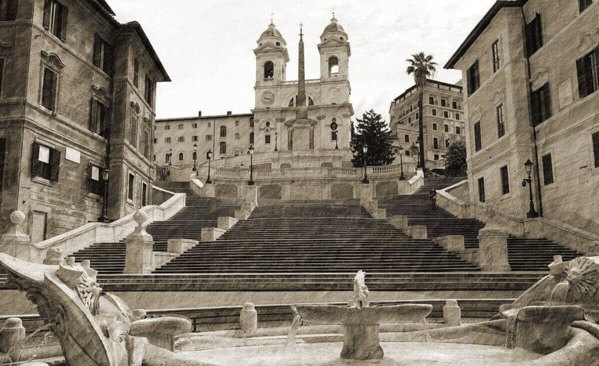 Spanish Steps history facts