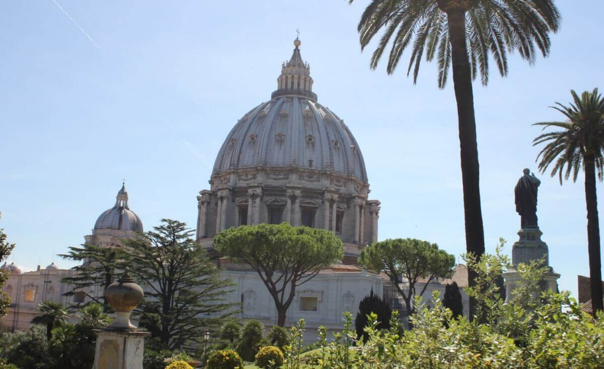 Visiting Vatican city