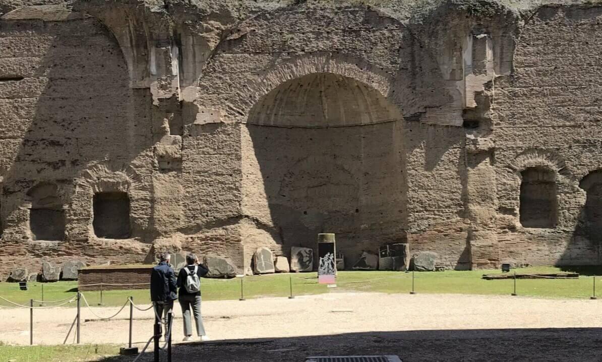 Famous Baths of Caracalla