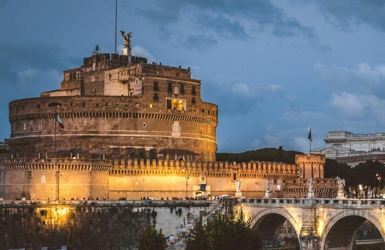 Castel San't Angleo Roman landmark