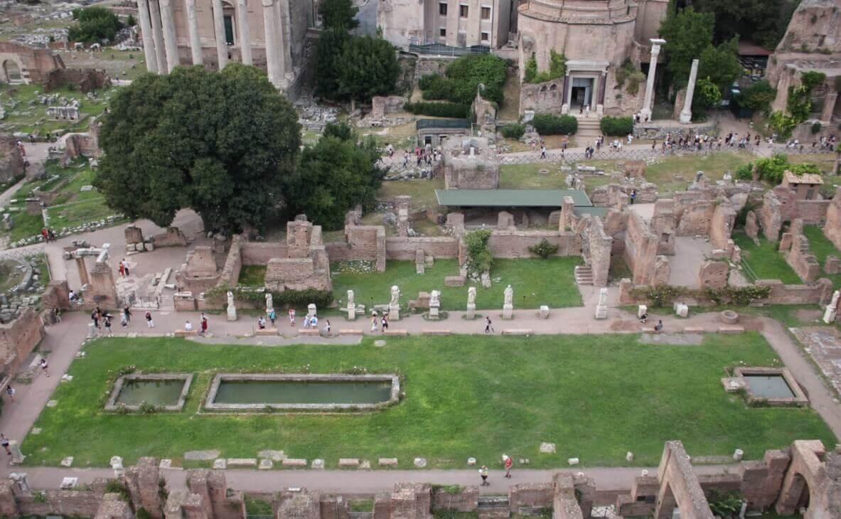 Curia Julia Roman Landmark