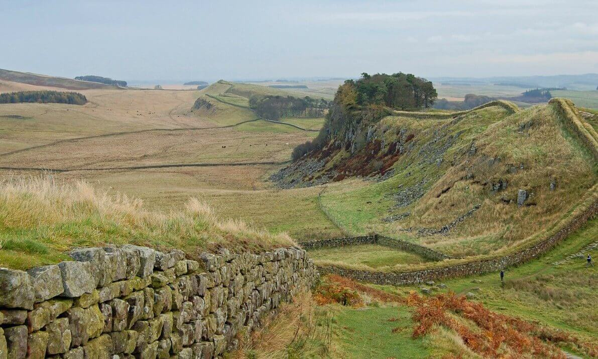 Hadrian's Wall in United Kingdom