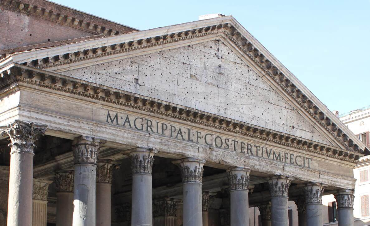 Pantheon in Rome monuments