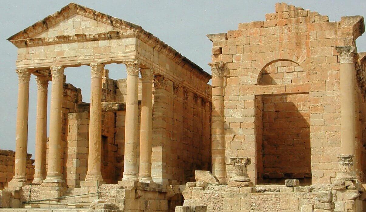 Sbeitla in Tunisia