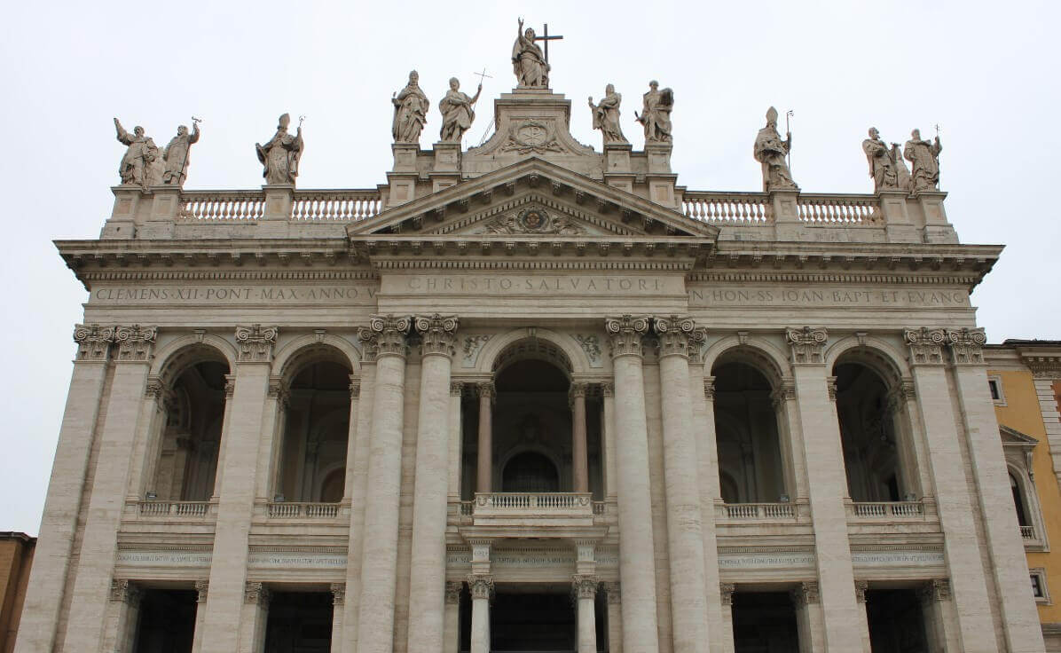 Rome monuments in Vatican City