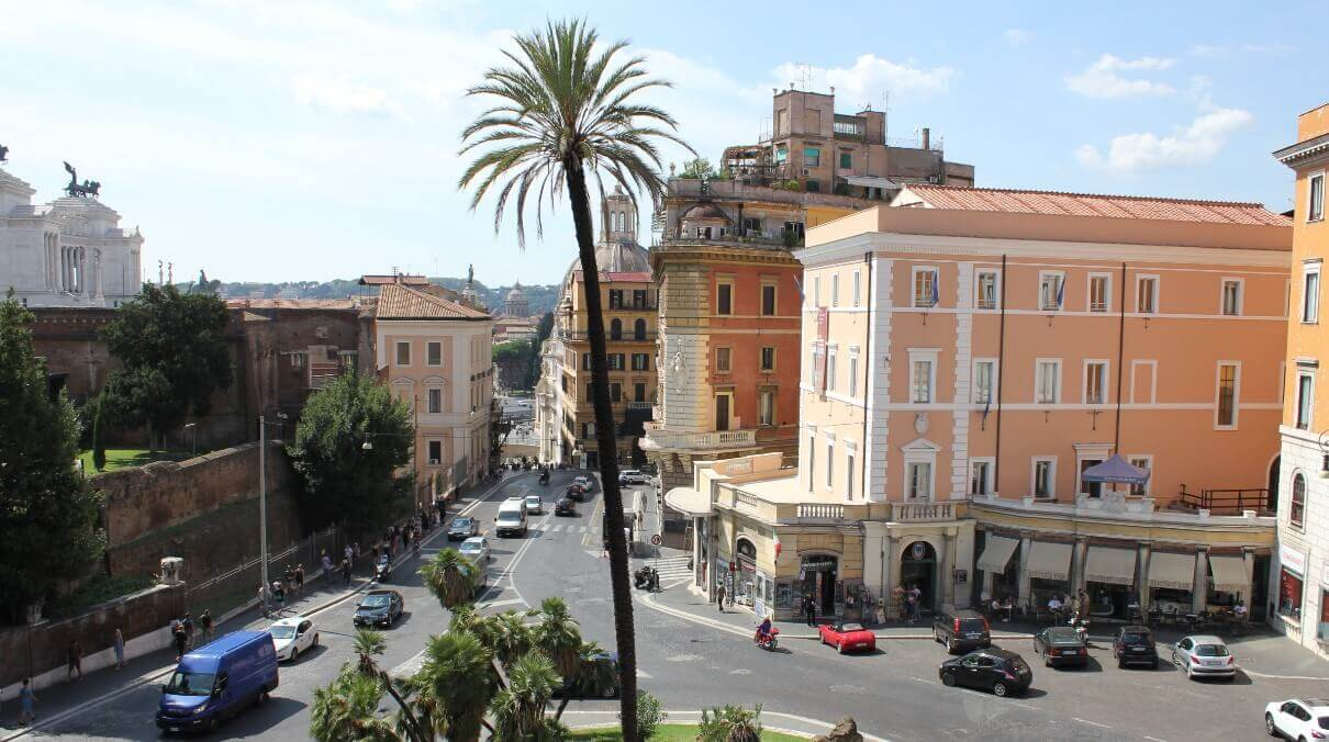 Weather in Rome in spring