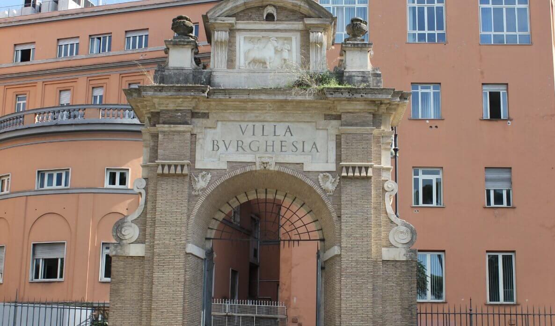 Villa Borghese Gallery and garden