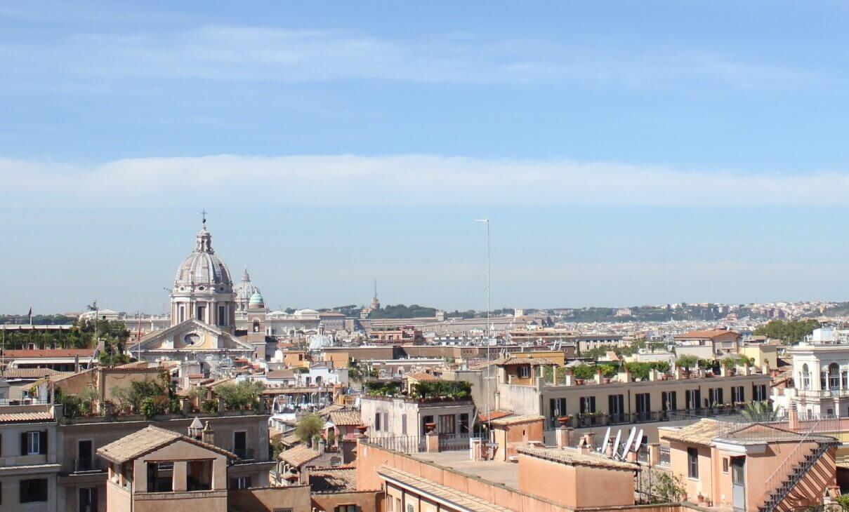 Weather in Rome in May