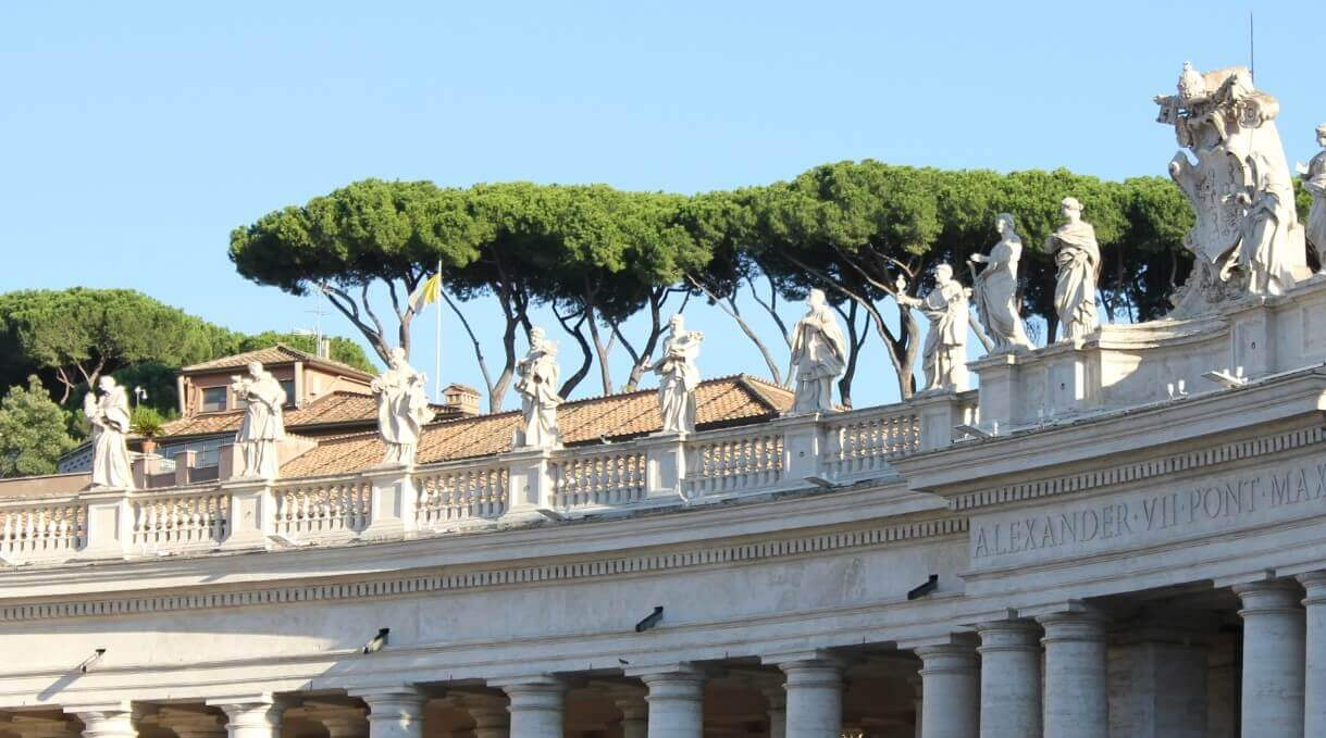 Weather in Rome when Easter