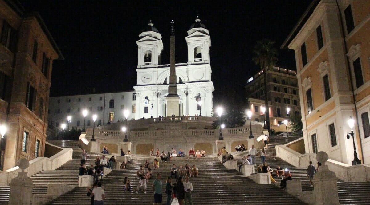 Summer night in Rome