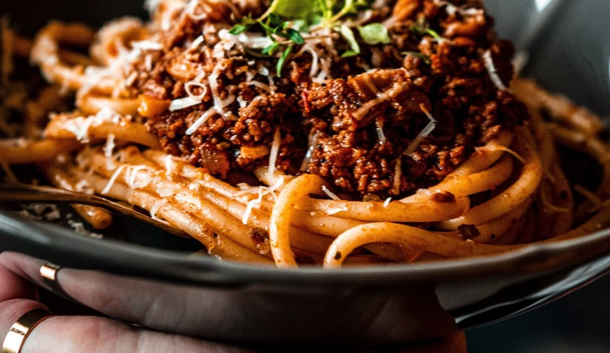 Spaghetti in Italy